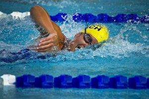 Sport swimmer competition